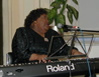 Willa Dorsey at piano